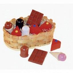 Kaufladen Süßigkeitenkörbchen