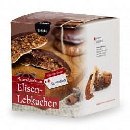 Geschenkbox mit 5 Schoko-Lebkuchen