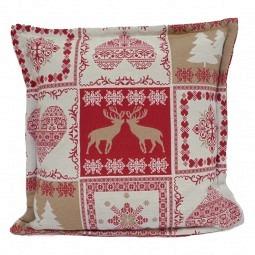Weihnachtskissen Hirsch