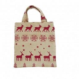 Stofftasche klein Weihnachten
